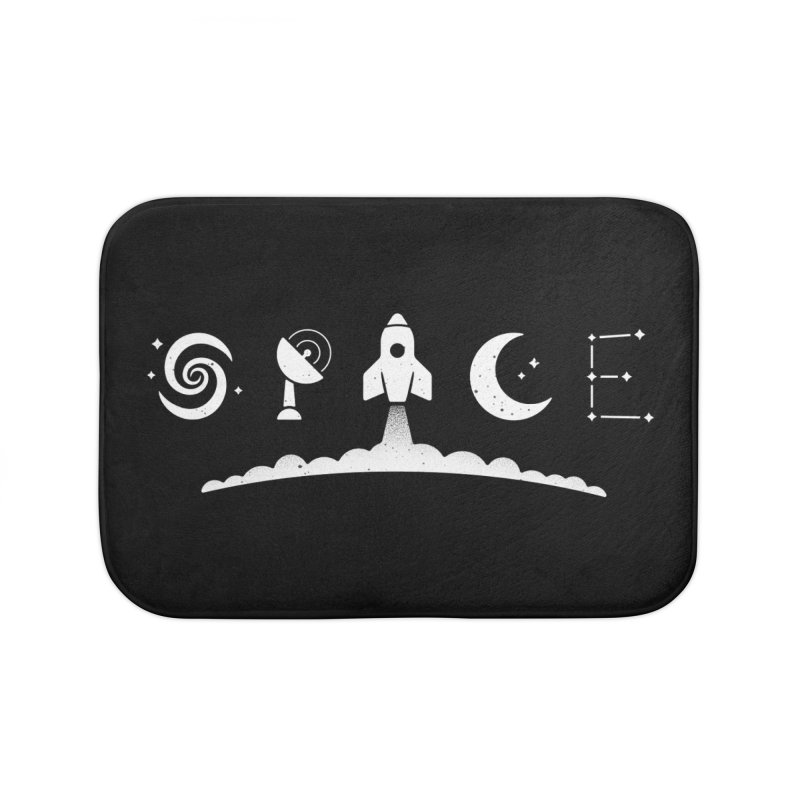 S P A C E Home Bath Mat by csw