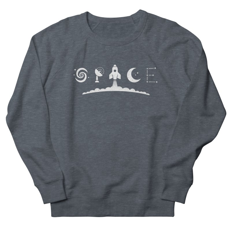 S P A C E Women's Sweatshirt by csw