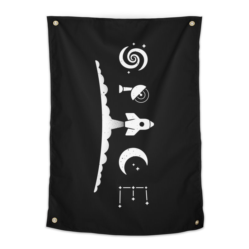 S P A C E Home Tapestry by csw