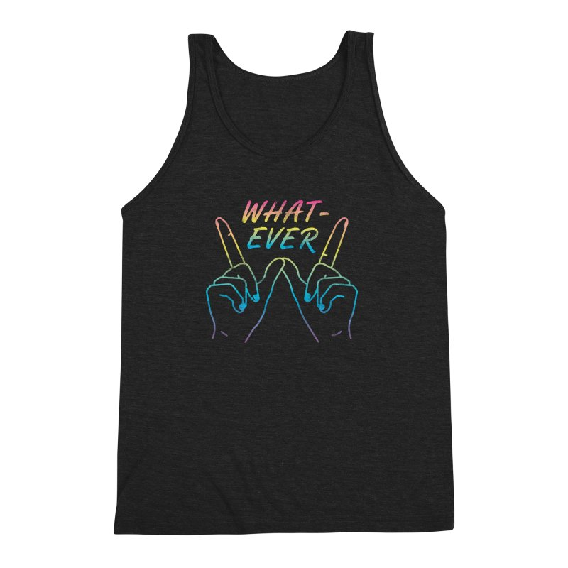 Whatever Men's Triblend Tank by csw