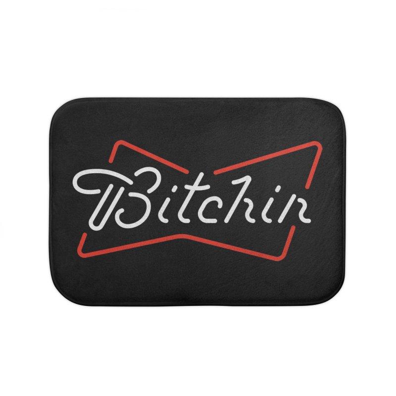 Bitchin' Home Bath Mat by csw