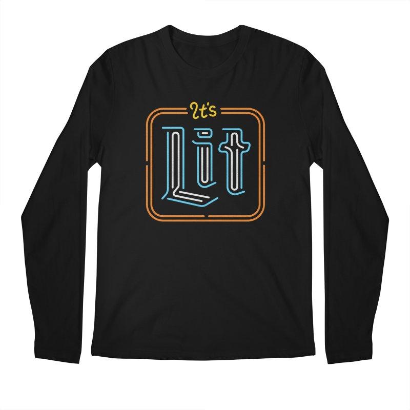 Lit Men's Longsleeve T-Shirt by csw