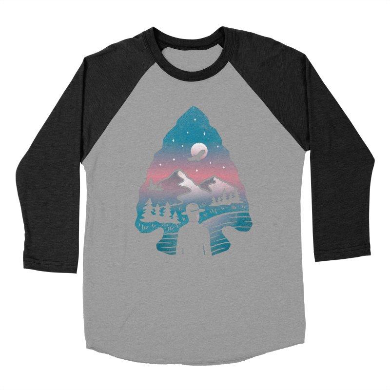 Take Aim Men's Baseball Triblend T-Shirt by csw