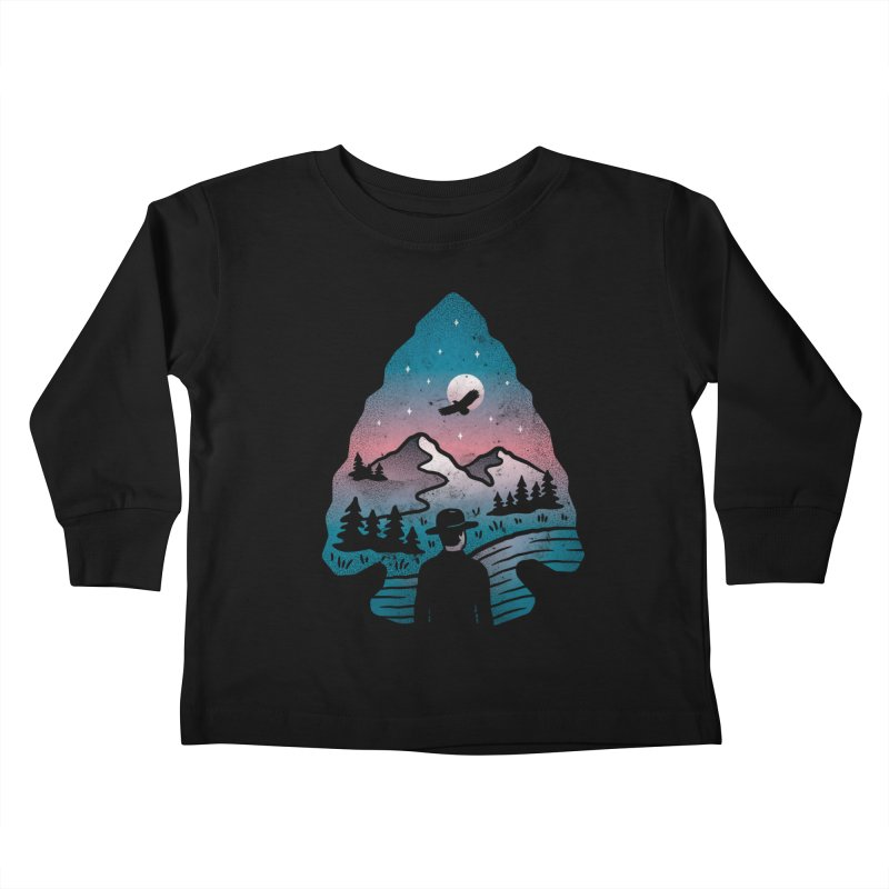 Take Aim Kids Toddler Longsleeve T-Shirt by csw