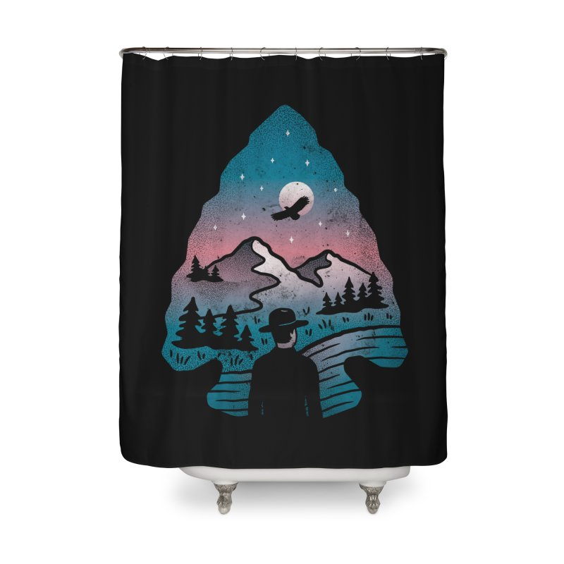 Take Aim Home Shower Curtain by csw