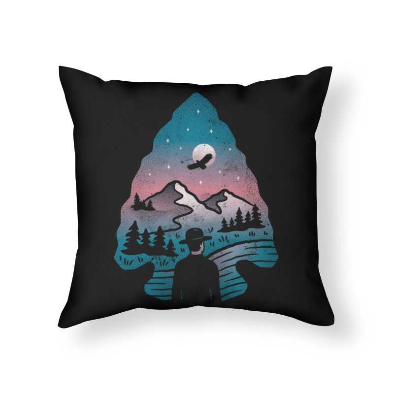 Take Aim Home Throw Pillow by csw