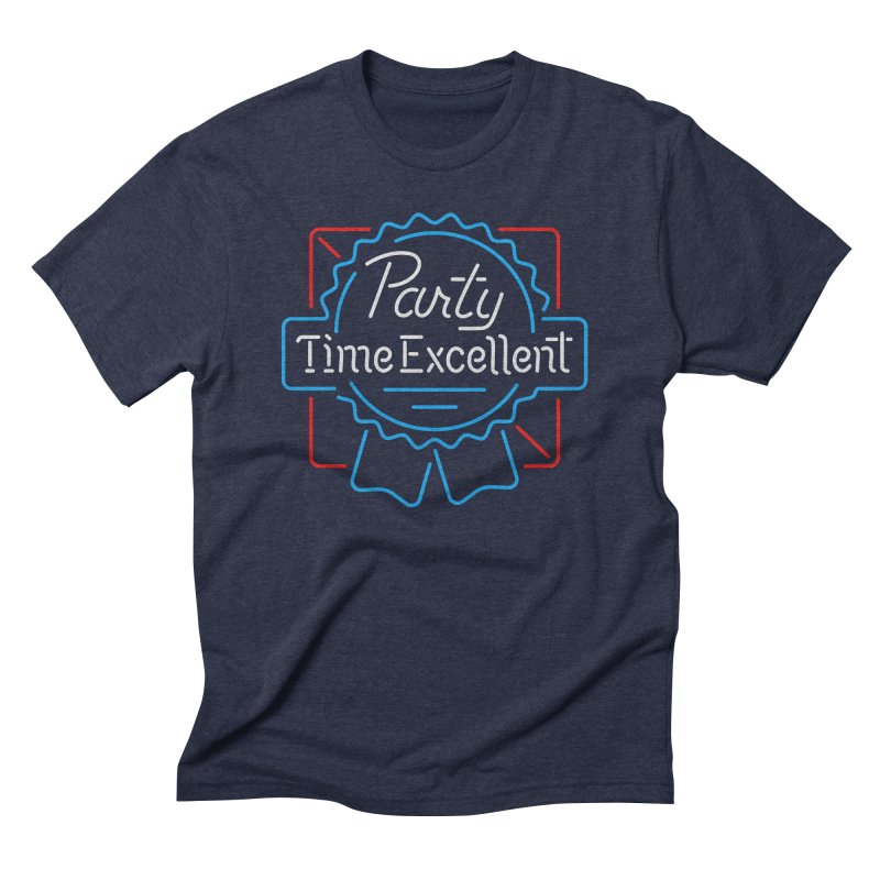 Party On Men's Triblend T-Shirt by csw