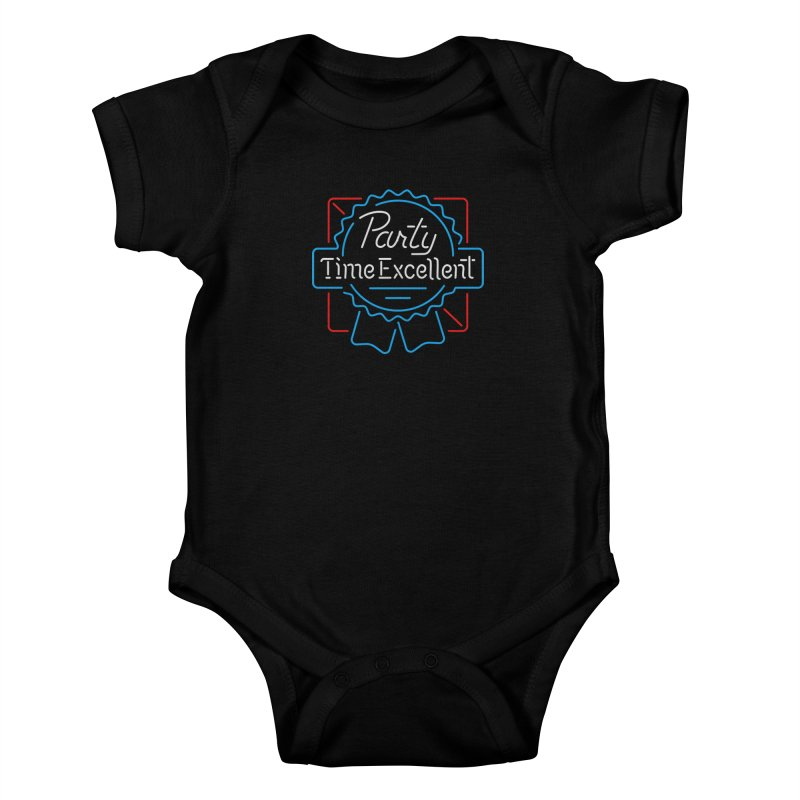 Party On Kids Baby Bodysuit by csw