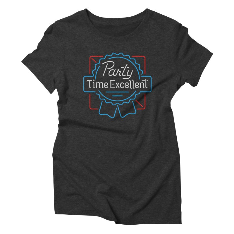 Party On Women's Triblend T-Shirt by csw