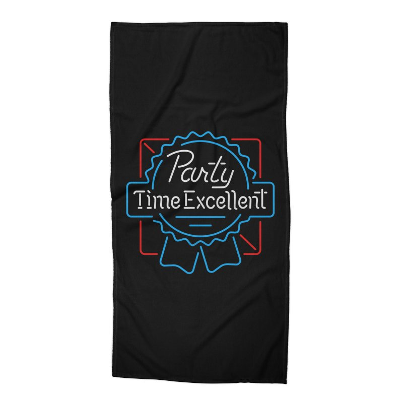Party On Accessories Beach Towel by csw