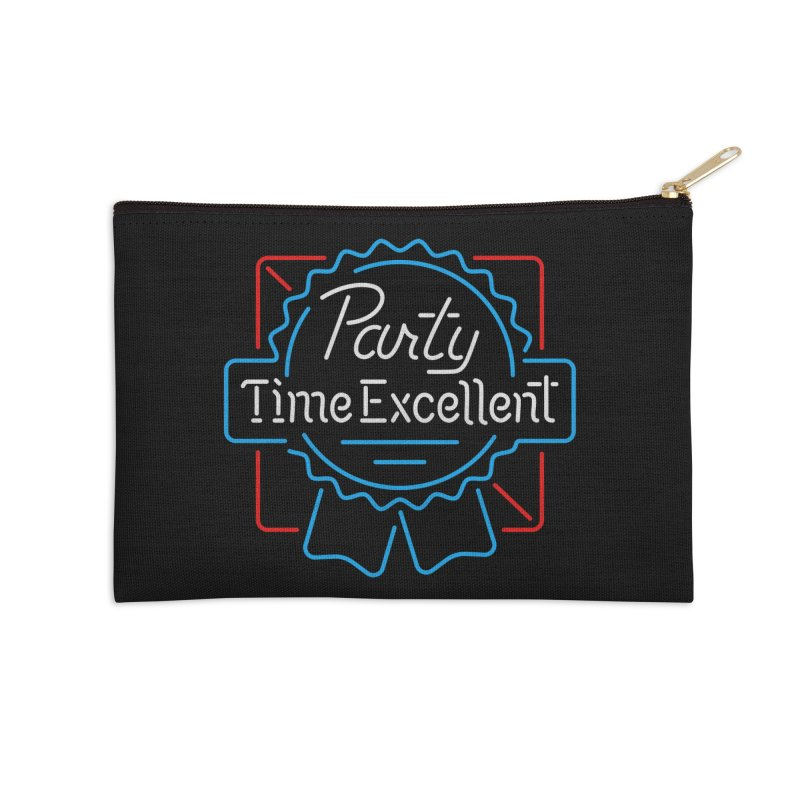 Party On Accessories Zip Pouch by csw