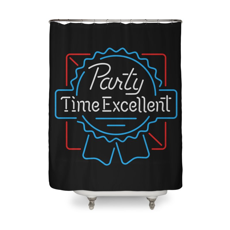 Party On Home Shower Curtain by csw