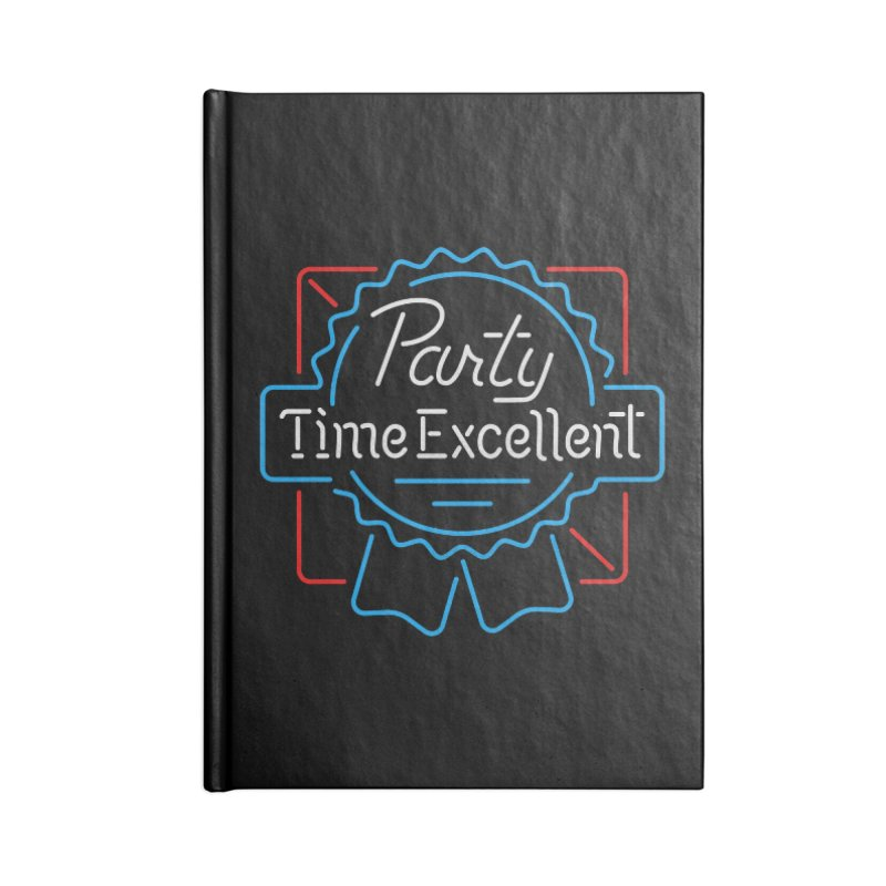 Party On Accessories Notebook by csw
