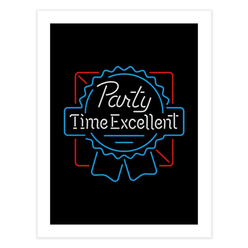 Party On Home Fine Art Print by csw