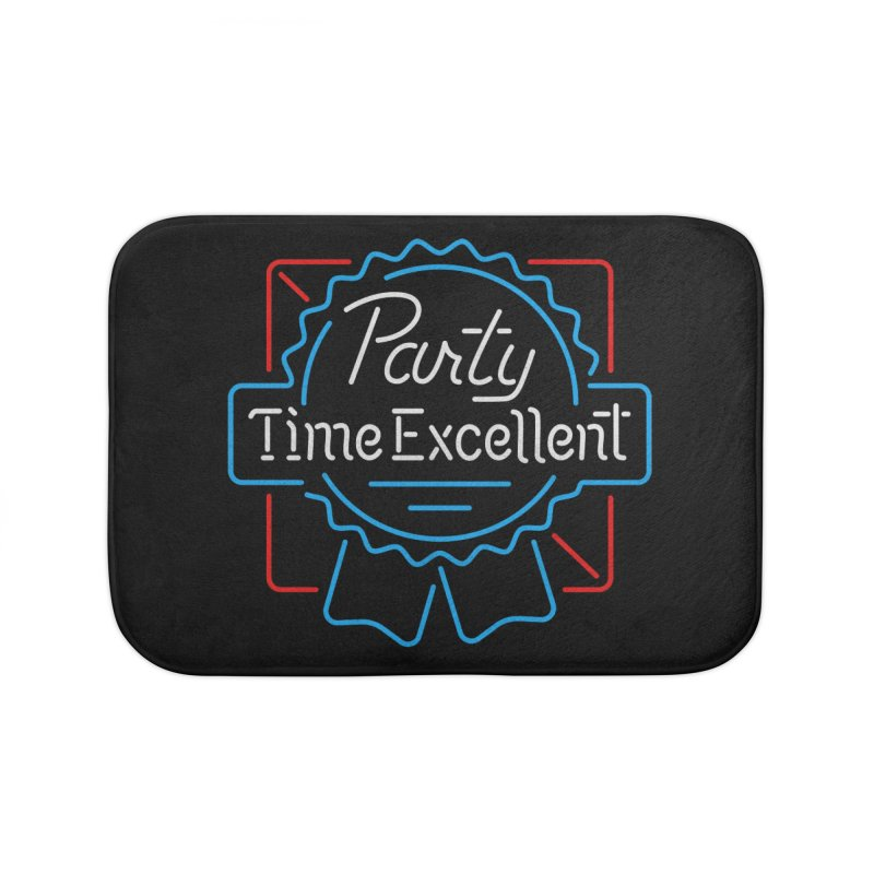 Party On Home Bath Mat by csw
