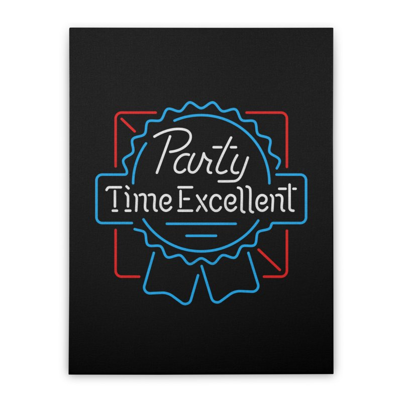 Party On Home Stretched Canvas by csw