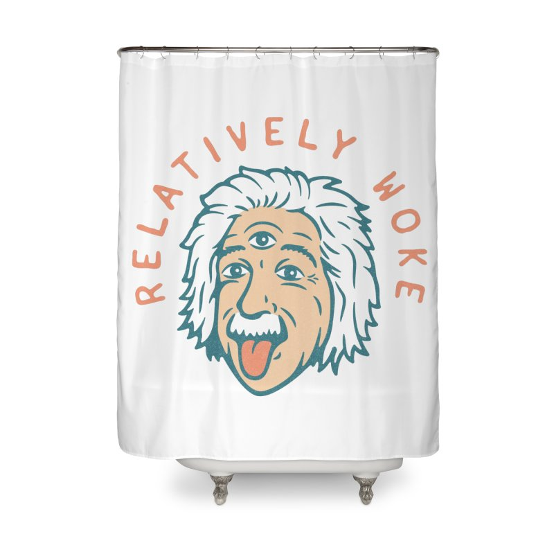 Relativity Home Shower Curtain by csw