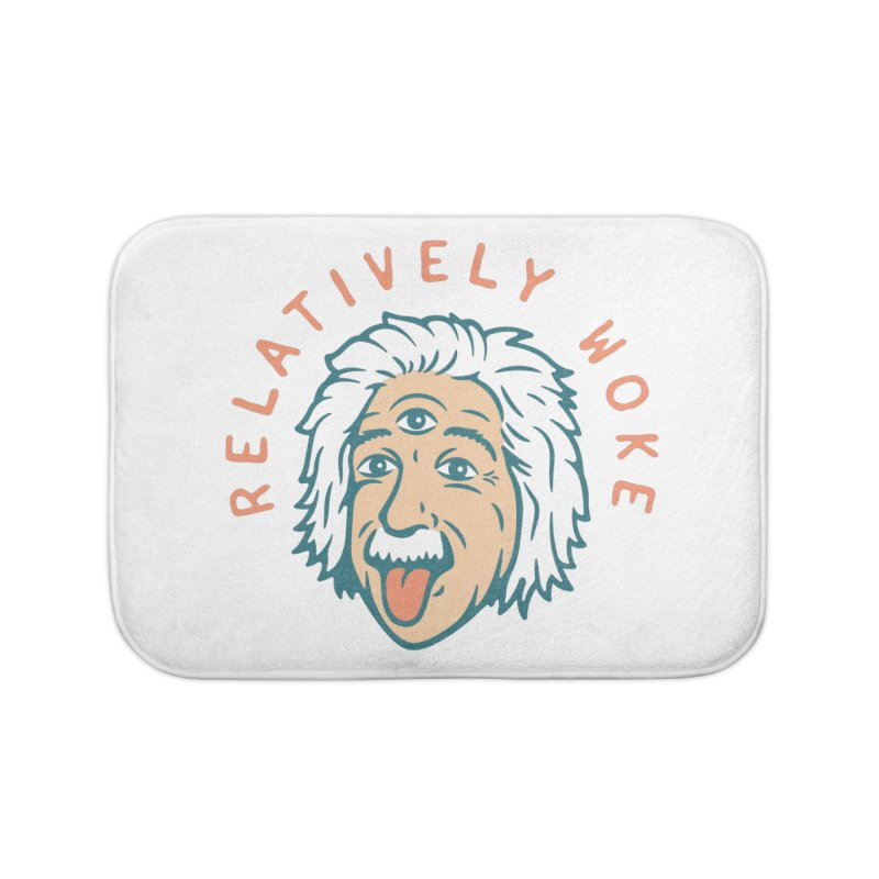 Relativity Home Bath Mat by csw
