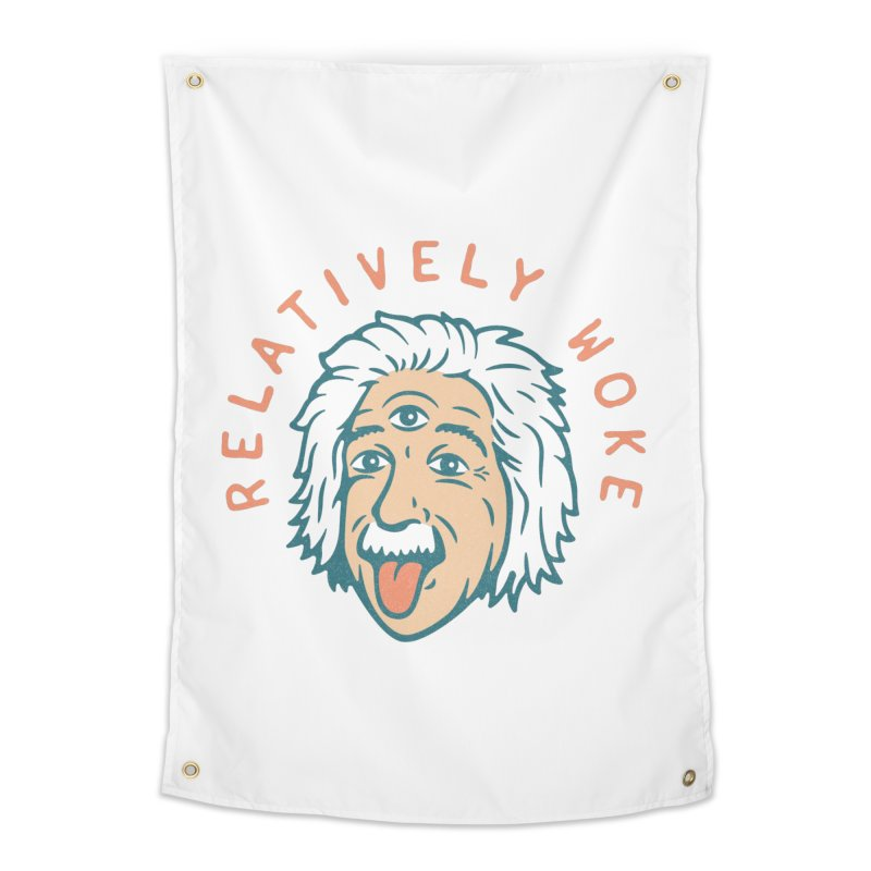 Relativity Home Tapestry by csw