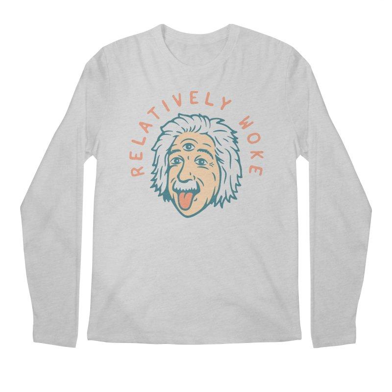 Relativity Men's Longsleeve T-Shirt by csw