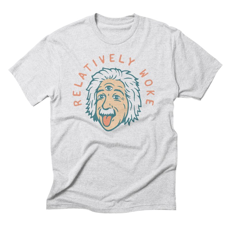 Relativity Men's Triblend T-Shirt by csw
