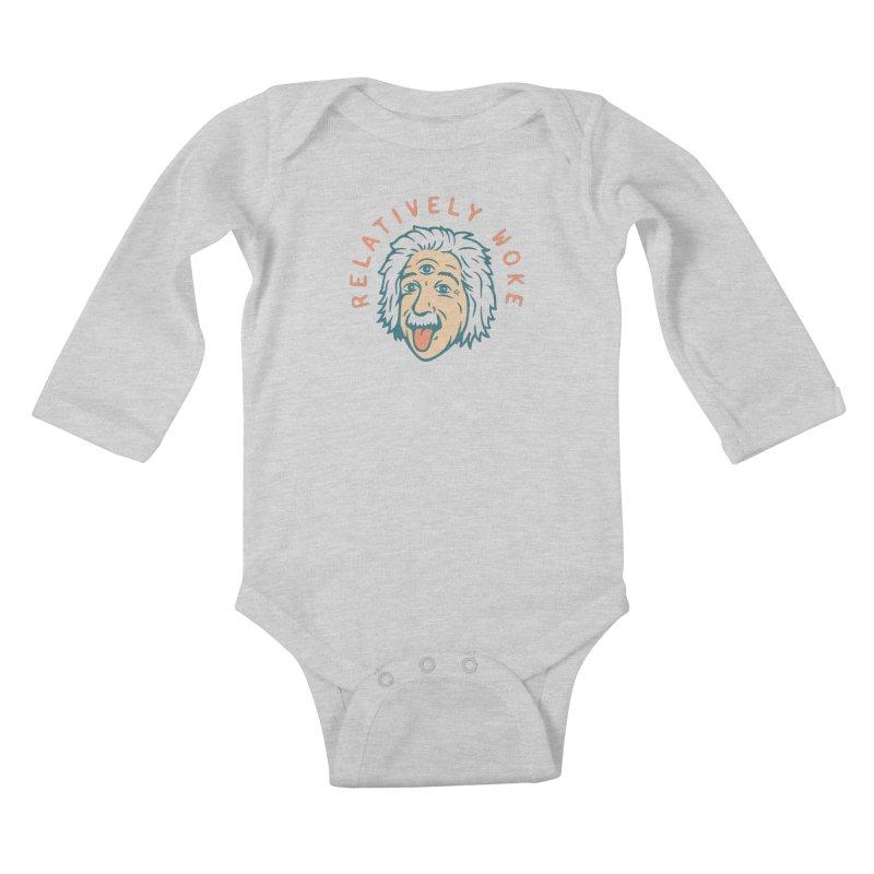 Relativity Kids Baby Longsleeve Bodysuit by csw