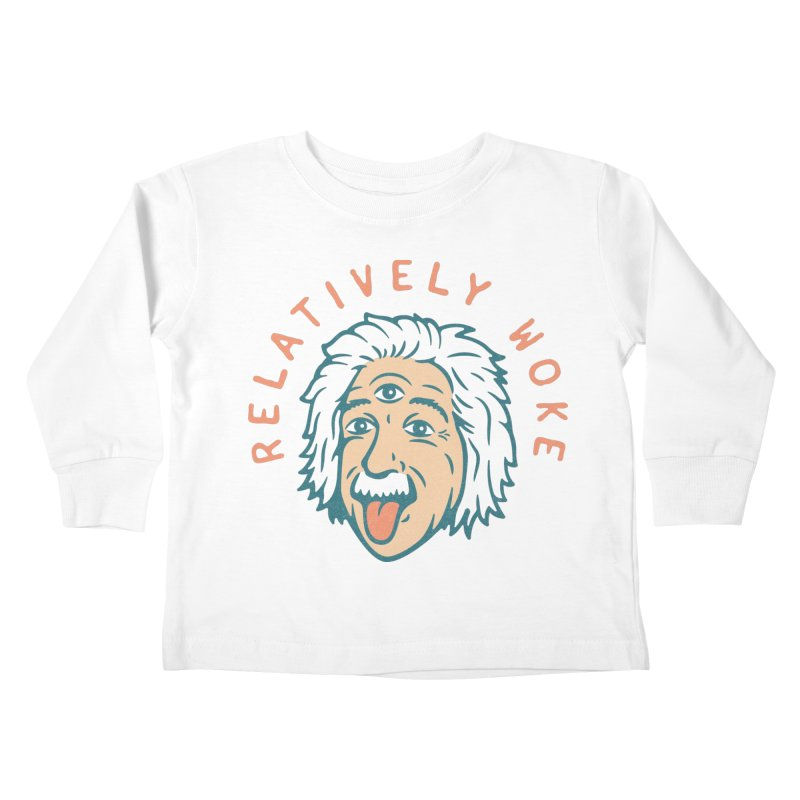 Relativity Kids Toddler Longsleeve T-Shirt by csw
