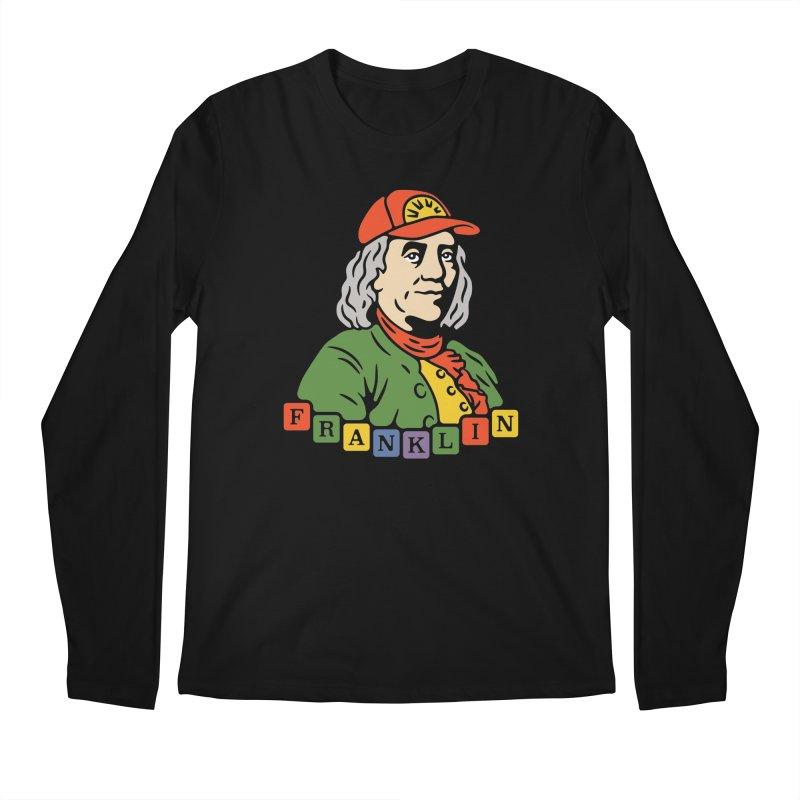 Benjamin Franklin Men's Longsleeve T-Shirt by csw