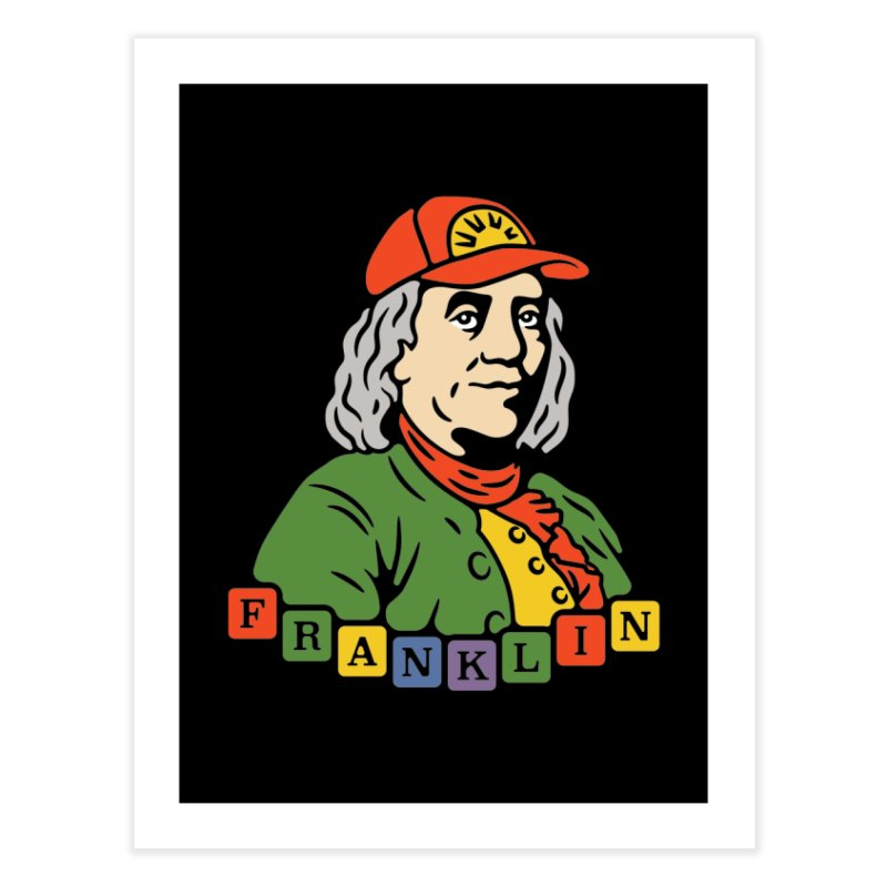 Benjamin Franklin Home Fine Art Print by csw