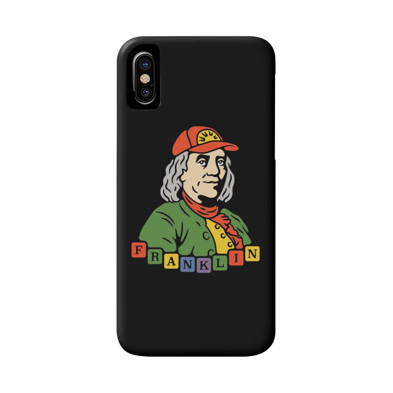 Benjamin Franklin Accessories Phone Case by csw