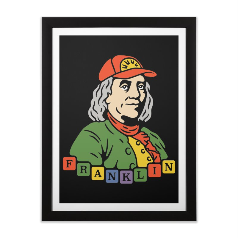 Benjamin Franklin Home Framed Fine Art Print by csw