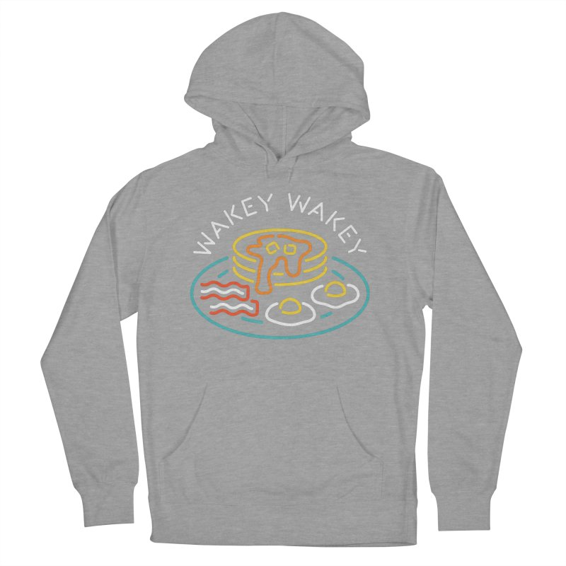 Wakey Wakey Men's Pullover Hoody by csw