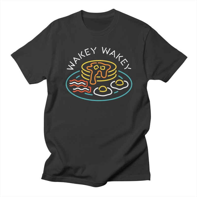 Wakey Wakey Men's T-Shirt by csw