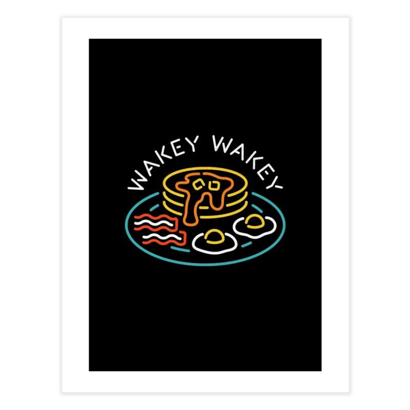 Wakey Wakey Home Fine Art Print by csw