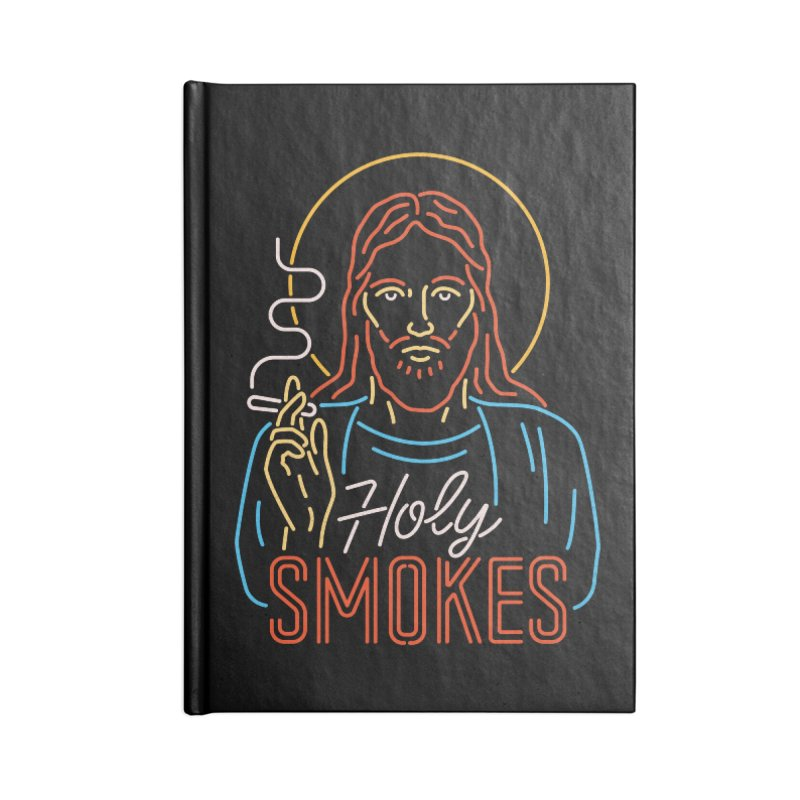 Holy Smokes Accessories Notebook by csw
