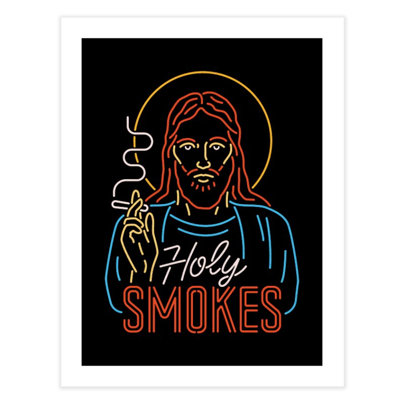 Holy Smokes Home Fine Art Print by Cody Weiler