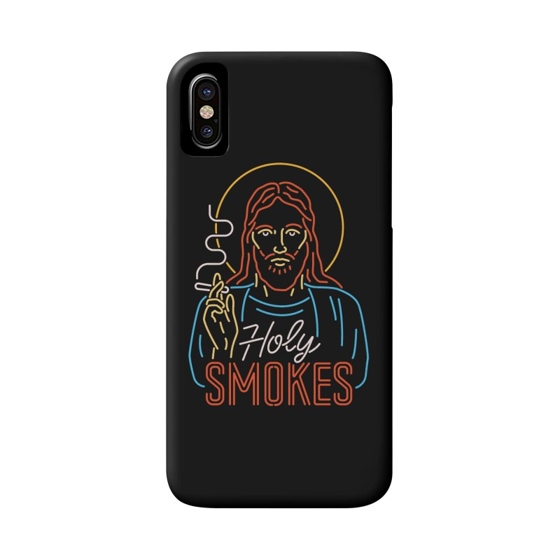 Holy Smokes Accessories Phone Case by csw