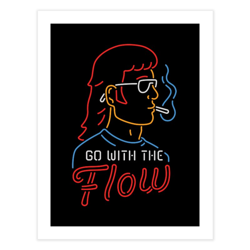 Go with the Flow Home Fine Art Print by csw