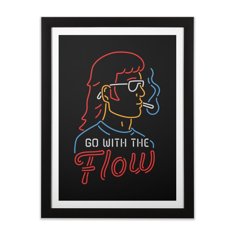Go with the Flow Home Framed Fine Art Print by csw