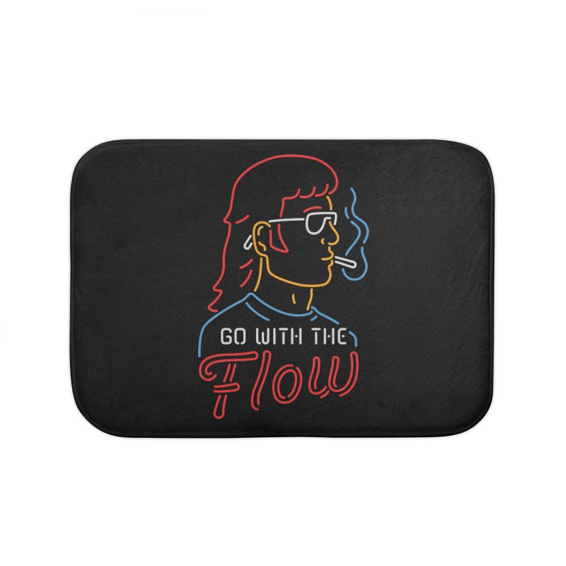 Go with the Flow Home Bath Mat by csw
