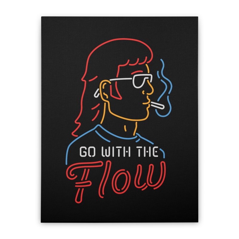 Go with the Flow Home Stretched Canvas by csw