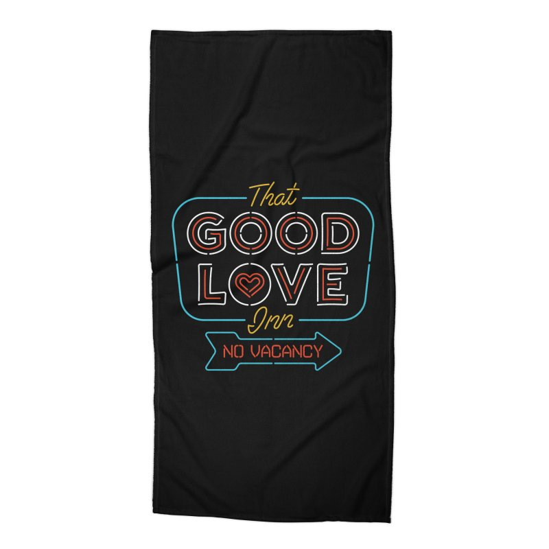 Good Love Accessories Beach Towel by csw
