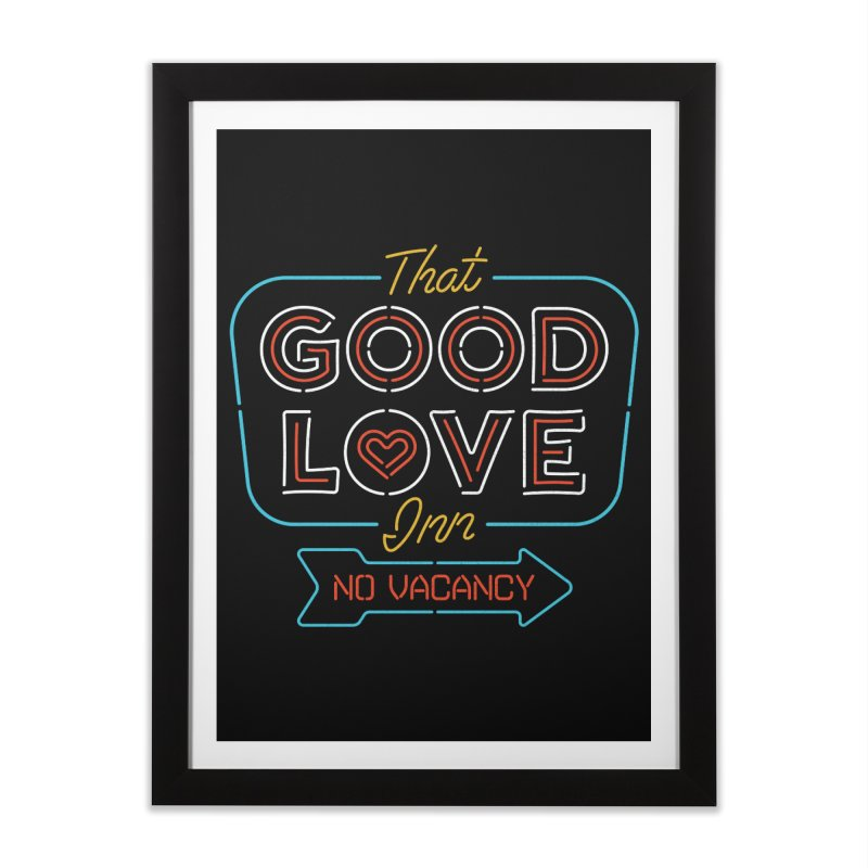 Good Love Home Framed Fine Art Print by csw