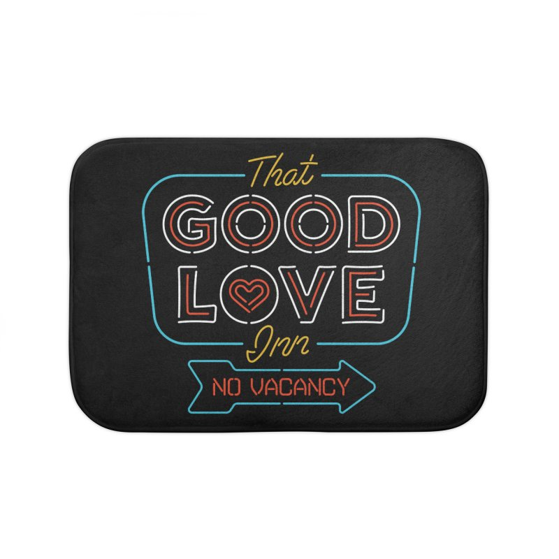 Good Love Home Bath Mat by csw