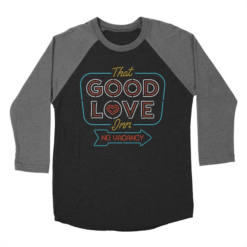 Good Love Women's Baseball Triblend T-Shirt by csw