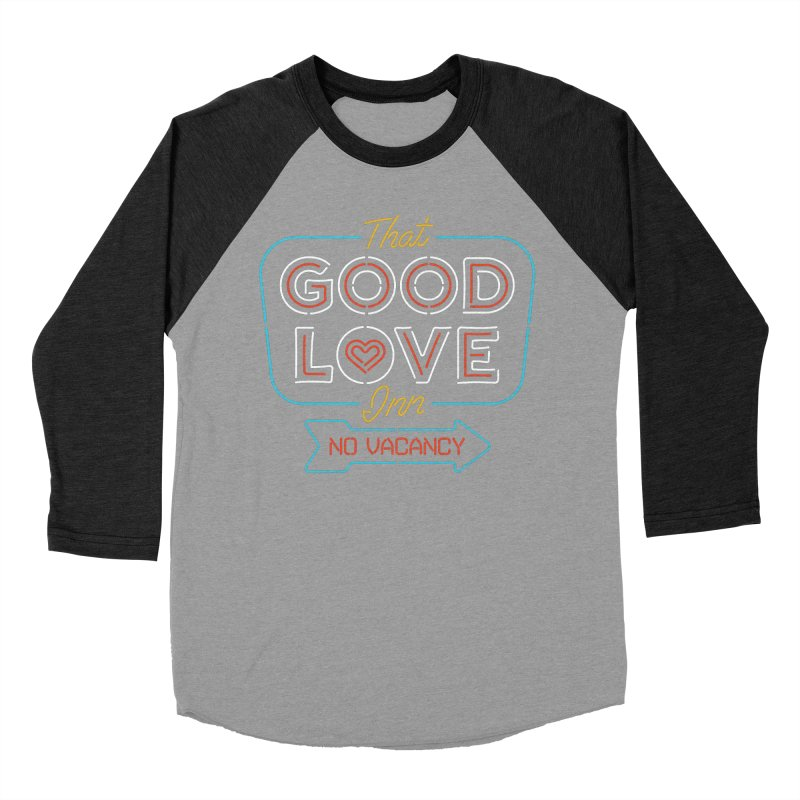 Good Love Men's Baseball Triblend T-Shirt by csw
