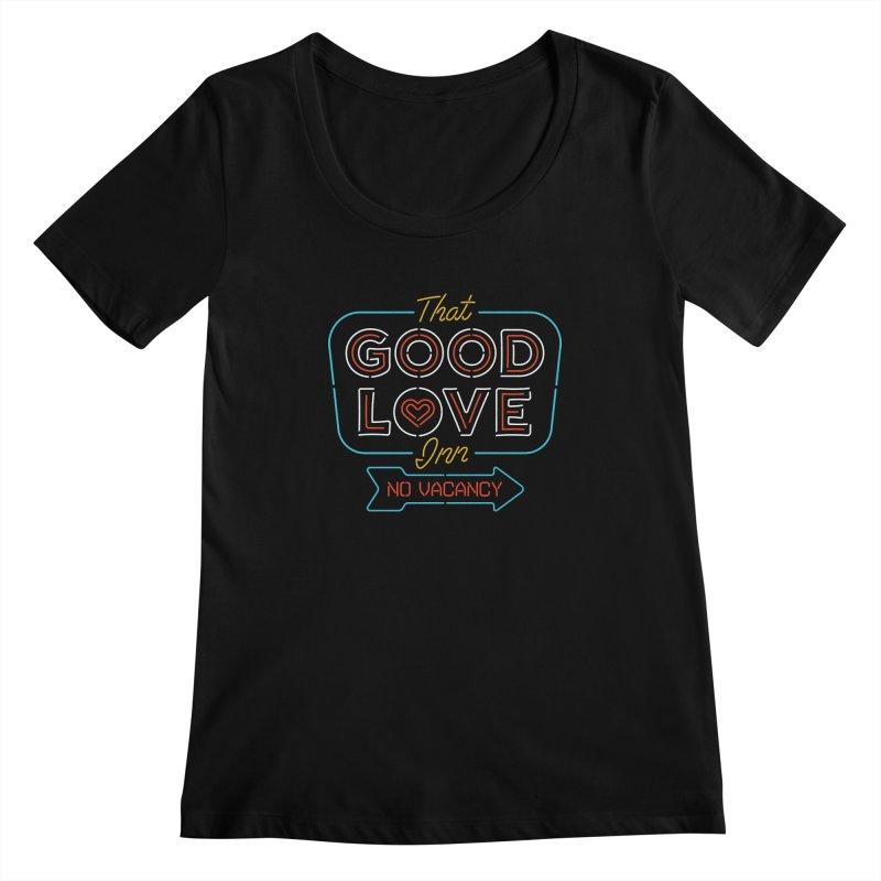 Good Love Women's Scoopneck by csw
