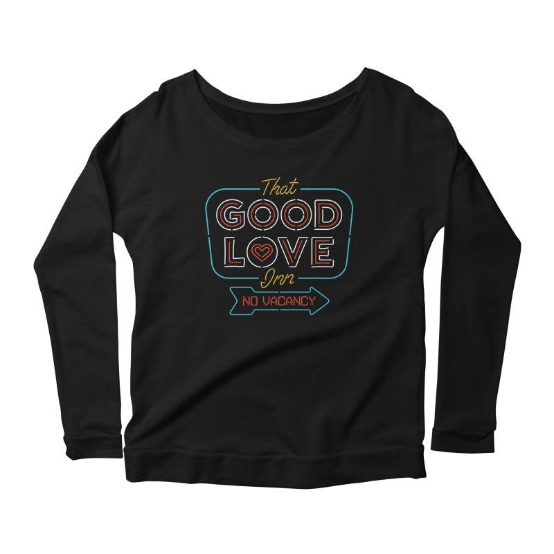 Good Love Women's Longsleeve Scoopneck  by csw