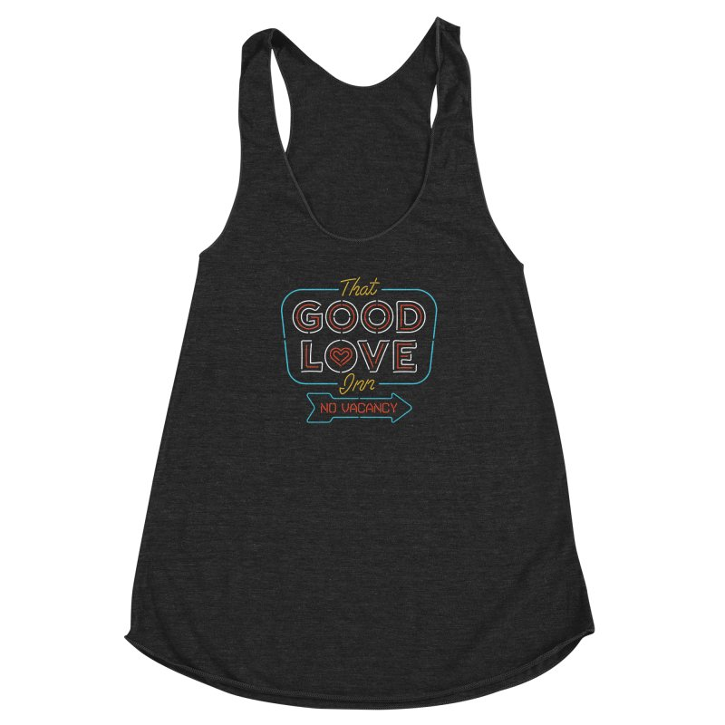 Good Love Women's Racerback Triblend Tank by csw