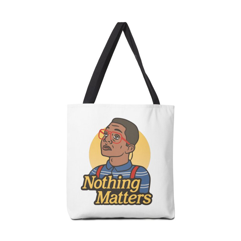 Nothing Matters Accessories Bag by csw